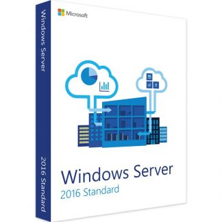 Windows Server 2016 Standard 50 User CALs Key